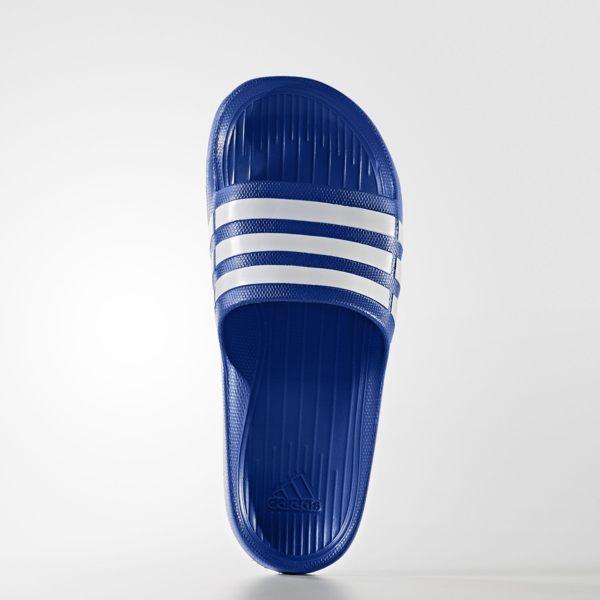 《限時特價↘629免運》ADIDAS Duramo Slide 拖鞋 男鞋 一體成型 防水 藍 白 【運動世界】 G14309