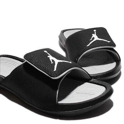 NIKE AIR JORDAN HYDRO 6 黑 灰 男鞋 US 8~13 881473-011 D.E