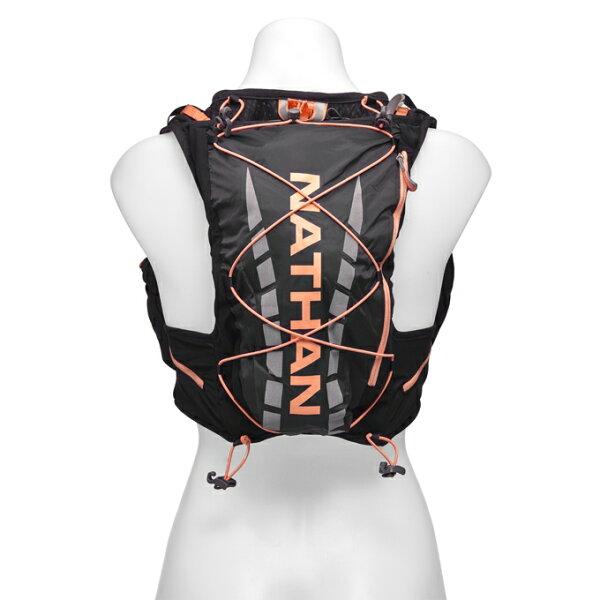 騎跑泳者FINISHER:騎跑泳勇者-NATHANVaporAir輕量超馬水袋背包(黑橘).送汗樂導汗帶套頭式頭帶顏色任選