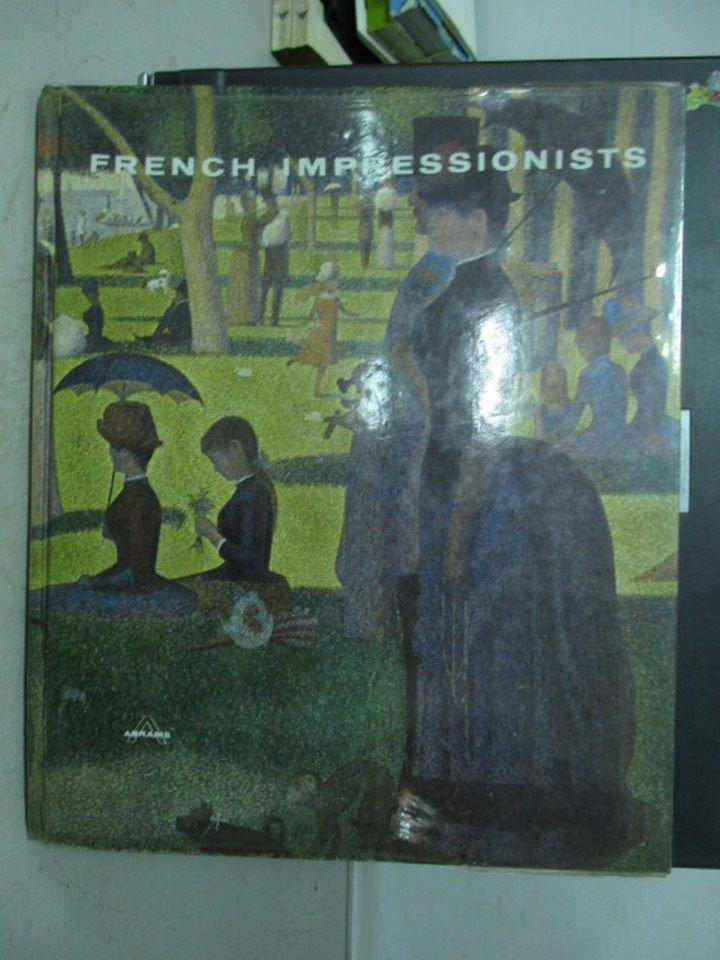 【書寶二手書T8/藝術_YEX】French impressionists
