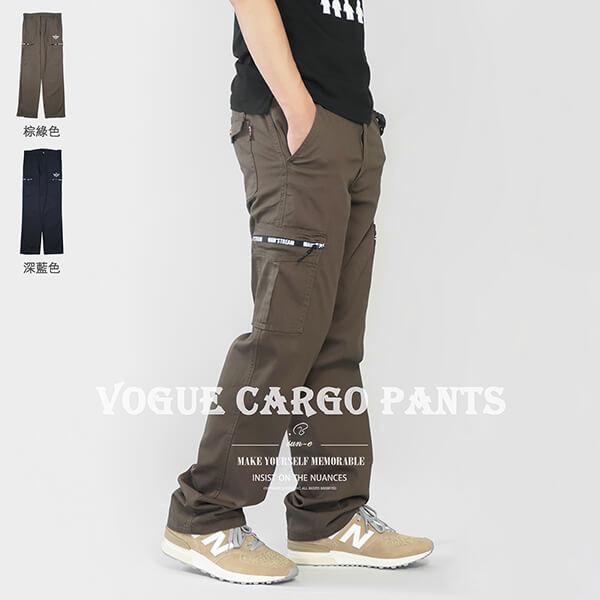 中直筒工作褲多口袋休閒長褲側貼袋彈性直筒褲工作長褲時尚休閒褲口袋褲工裝褲CARGOPANTSCASUALPANTS(307-7353-08)深藍色、(307-7354-12)棕綠色腰圍MLXL2L3L4L5L(28~41英吋)[實體店面保障]sun-e