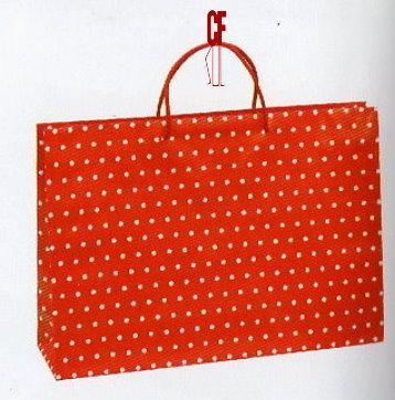 紙袋2K~20入~小珍珠~棉把手 pbag~012