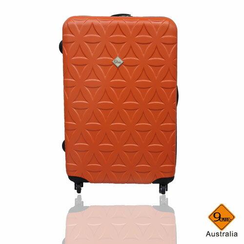 Gate9花花系列ABS霧面28吋輕硬殼旅行箱 / 行李箱 1