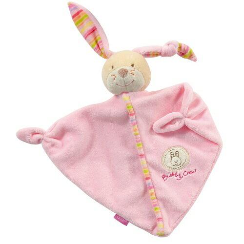 德國【BabyFEHN】香檳兔三角形布偶安撫巾