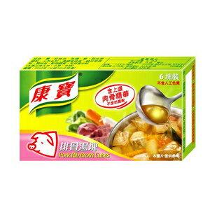 康寶 排骨湯塊(6塊裝) 60g/盒