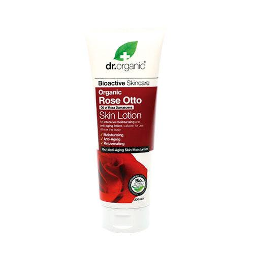 Dr. Organic 丹霓珂 奧圖玫瑰淨白護膚乳液200ml
