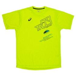 (陽光樂活) ASICS 日本亞瑟士 男 短袖印花T恤 XRK717-04