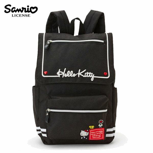 【日本正版】凱蒂貓雙磁扣後背包背包書包HelloKitty三麗鷗Sanrio-984871