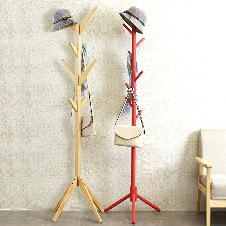 創意多功能衣帽架 簡易組裝架子臥室掛衣架 客廳收納整理架
