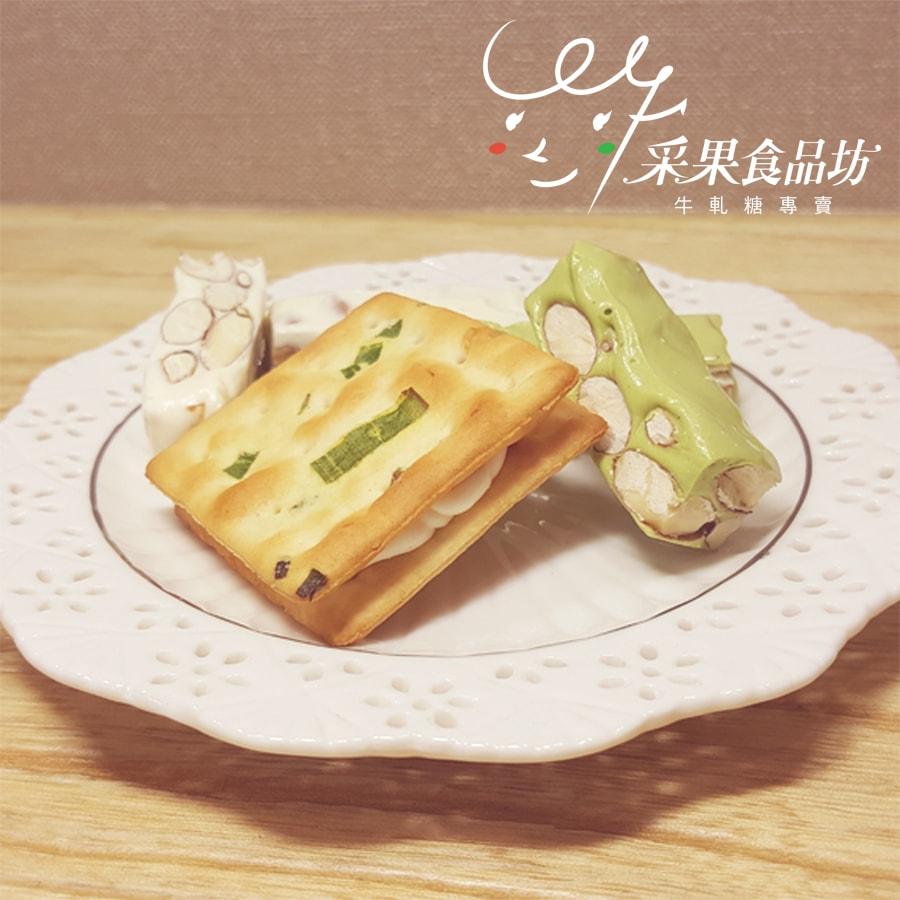 """【采果食品坊】采果輕巧盒  48g+1入/盒 """"糖+餅組合"""" (6盒組)"""