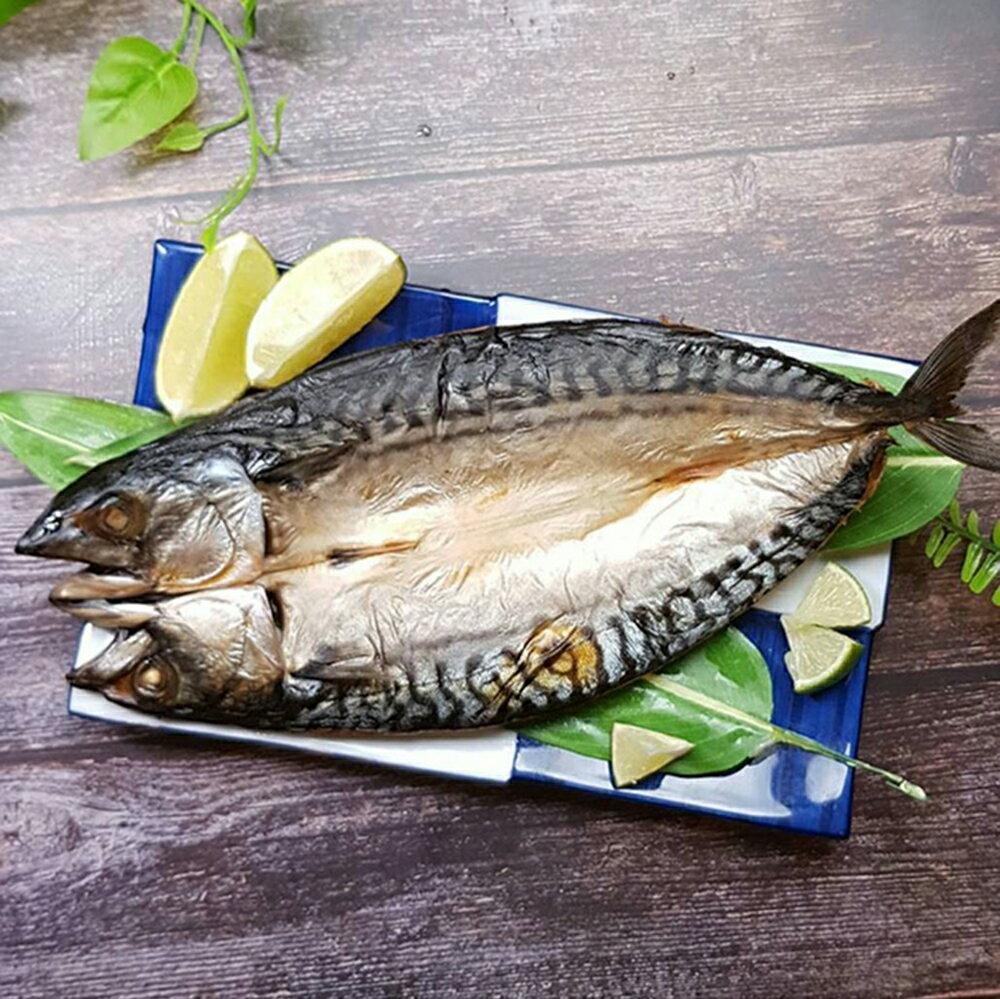 【億品館】挪威鯖魚一夜干真空包/270~310g/隻