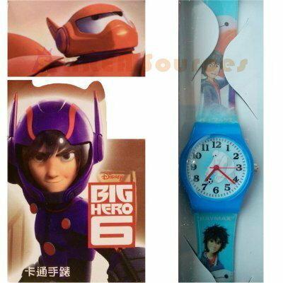 【禾宜精品】正版 迪士尼 大英雄天團 手錶 兒童錶 休閒錶 卡通錶 生活百貨 (BG-503)