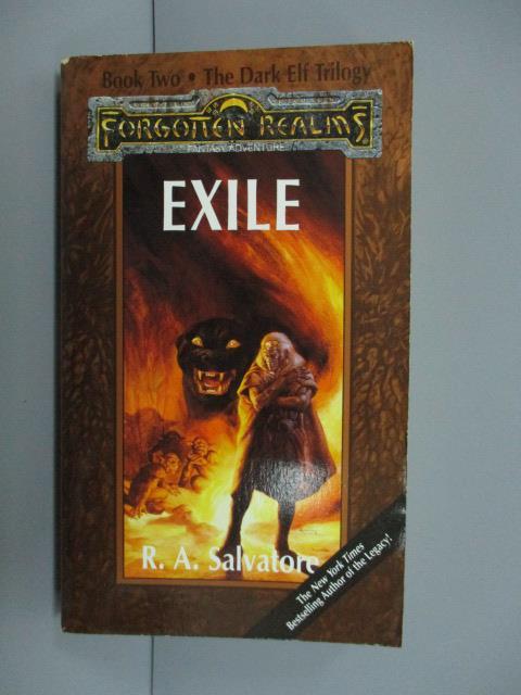 【書寶二手書T7/原文小說_MRL】EXILE_R.A.Salvatore