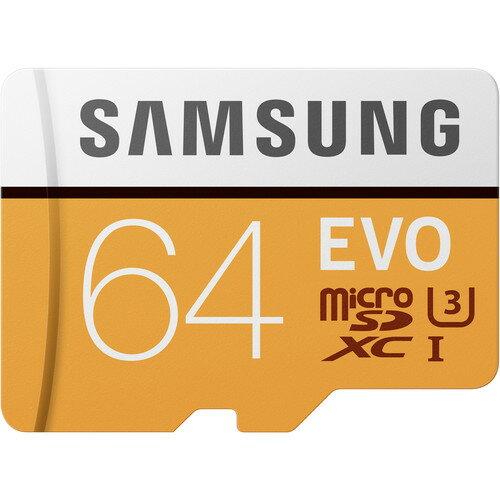 """Samsung MicroSDXC EVO Memory Card - 64GB Memory Card"""