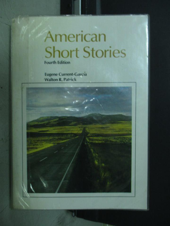 【書寶二手書T6/原文小說_NRB】American Short Stories