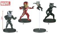 Marvel 玩具與電玩推薦到日版 WCF MARVEL 漫威 英雄內戰 鋼鐵人 戰爭機器 蟻人 黑豹 大全一套四款 約7公分高 公仔就在UNIPRO優鋪推薦Marvel 玩具與電玩