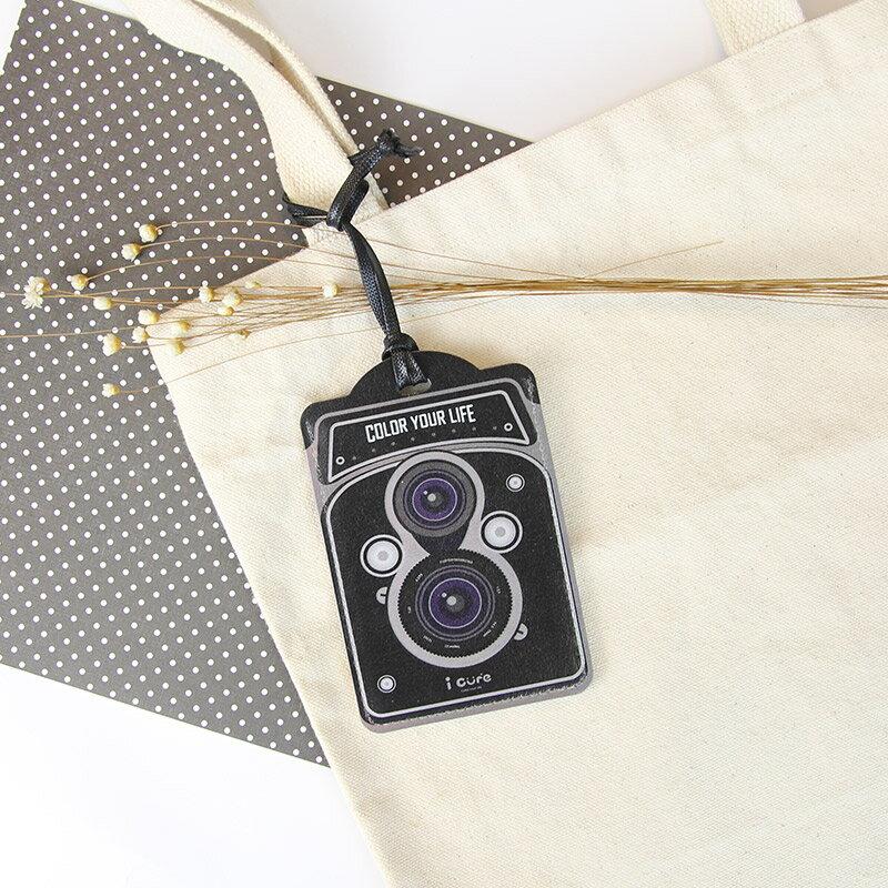 i card 萬用卡套組-復古相機 行李吊牌 證件吊牌 票卡夾