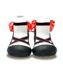 【本月特價$599】韓國【Attipas】快樂腳襪型學步鞋-芭蕾天使 - 限時優惠好康折扣