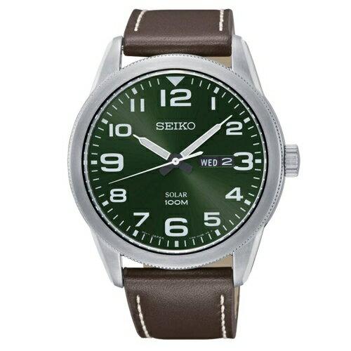 方采鐘錶:SEIKO精工潮男必備太陽能皮帶腕錶V158-0BC0GSNE473P1
