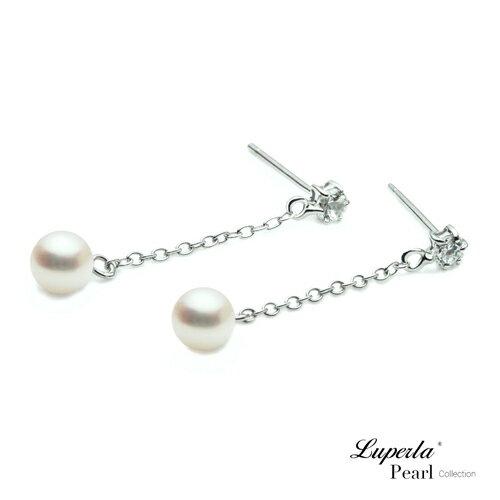大東山珠寶 可愛寶貝 淡水珍珠耳環 3