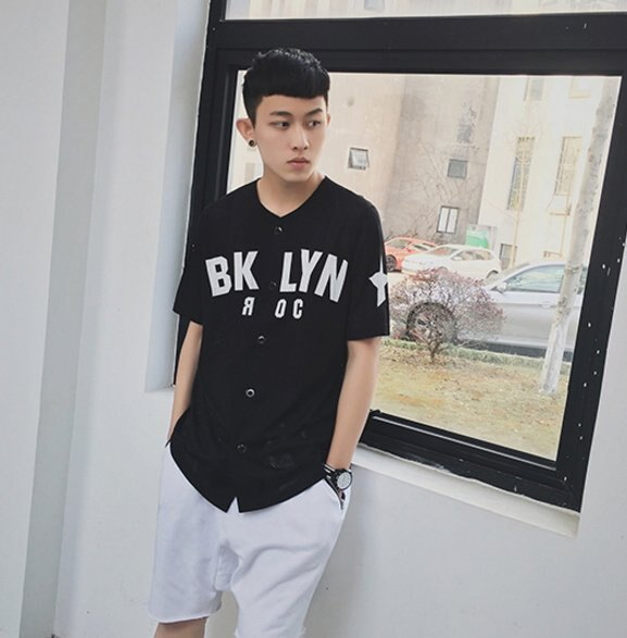 【JP.美日韓】簡約 潮流棒球外套 外搭 棒球裝 外套 短袖 襯衫 透氣