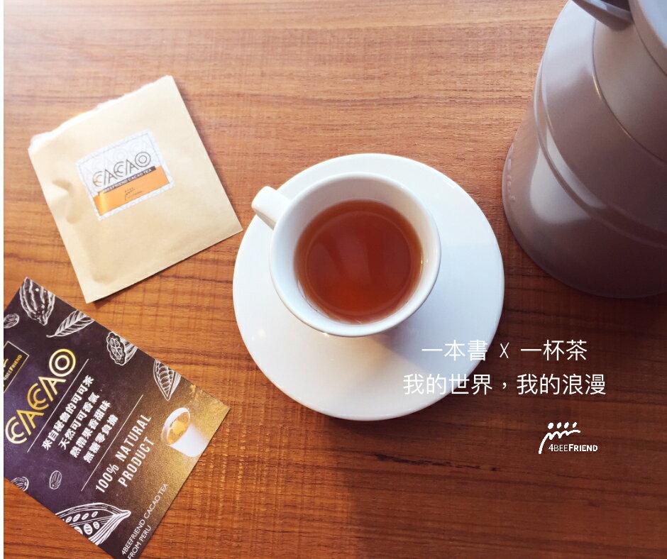 零熱量 經典巧克力原味  CACAO TEA  12入茶包裝