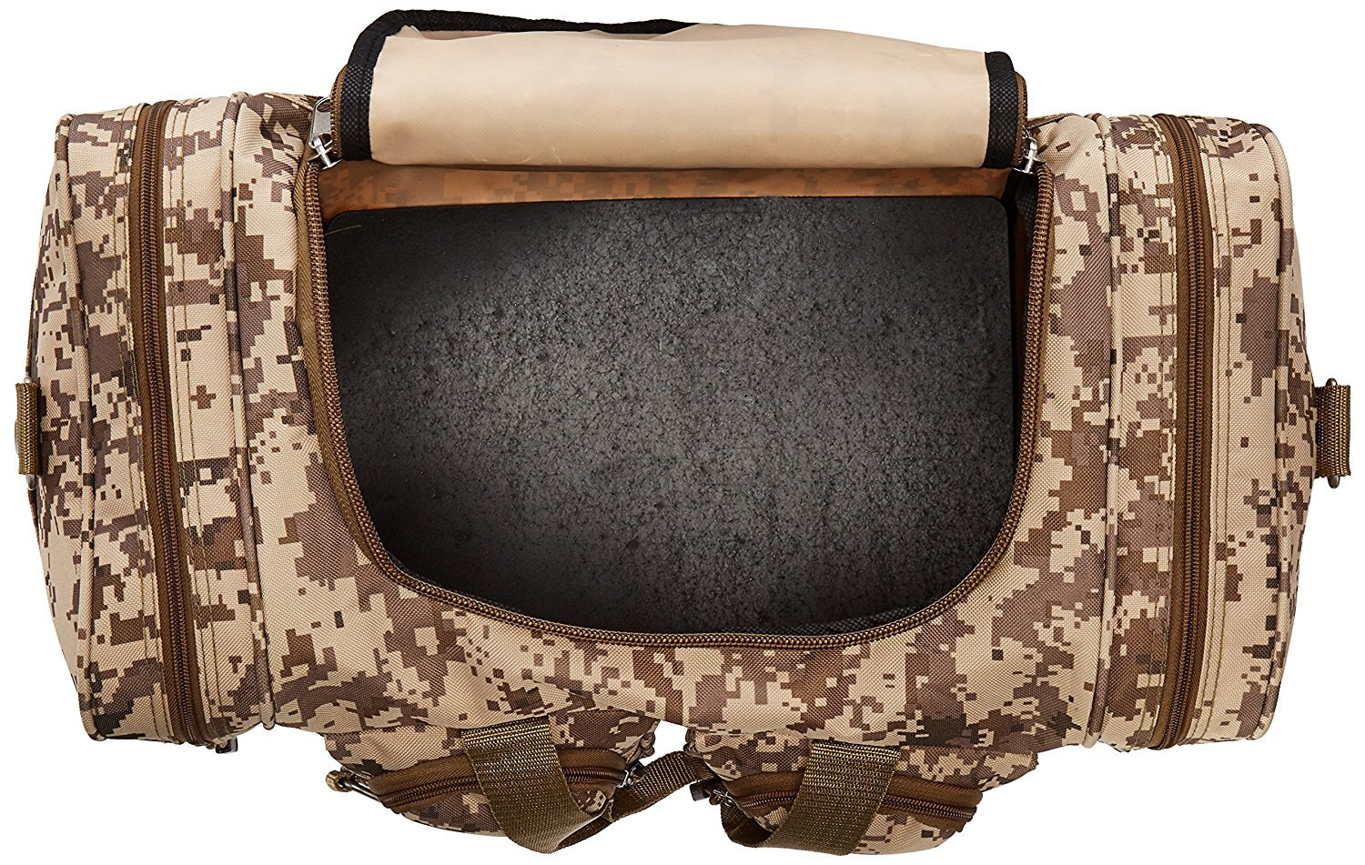 East West 31 Duffle Bag Tan Acu Dc3031 1