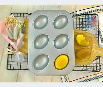 【Betty's焙蒂絲】6連杯檸檬造型烤盤 BP7007《烘焙器具(材)》