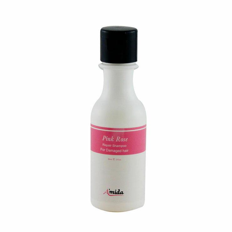 AMIDA粉玫瑰有機洗髮精60ML