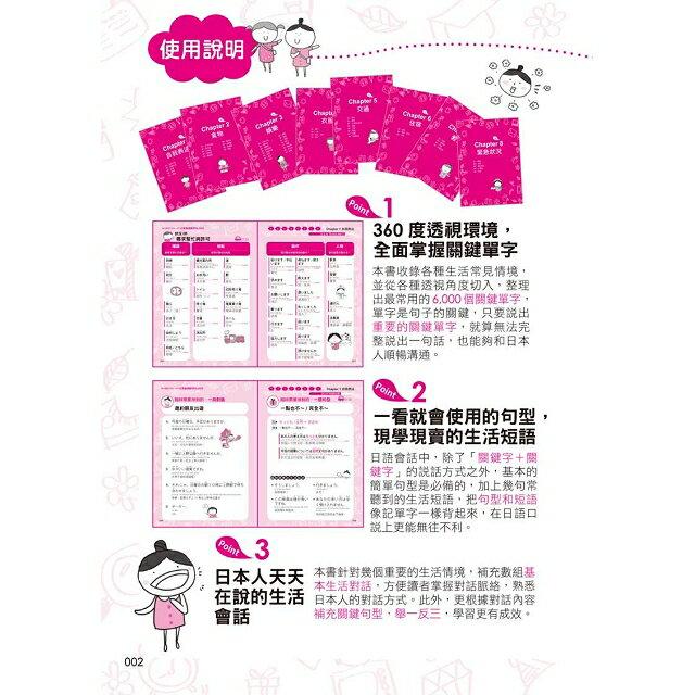 臨時需要用到的一個字:日語關鍵字6,000(附1MP3) 3