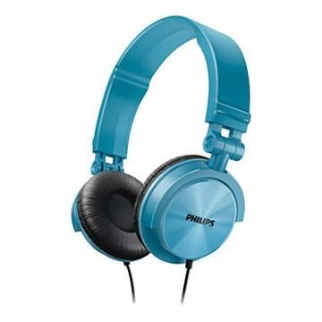 【迪特軍3C】PHILIPS 飛利浦 SHL3050 DJ款 可摺疊耳機 藍色