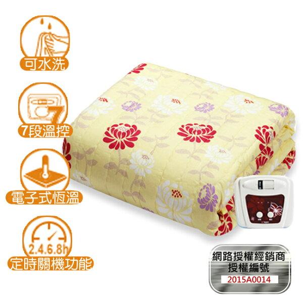 快樂老爹:【韓國甲珍】韓國進口恆溫定時電熱毯(雙人)NHB-301P-T