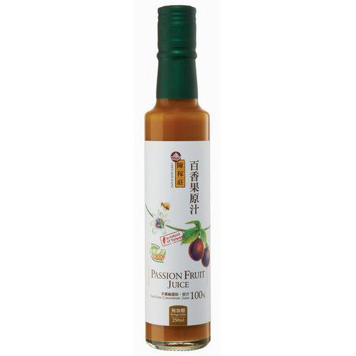 陳稼莊天然百香果原汁(無糖)250ml瓶