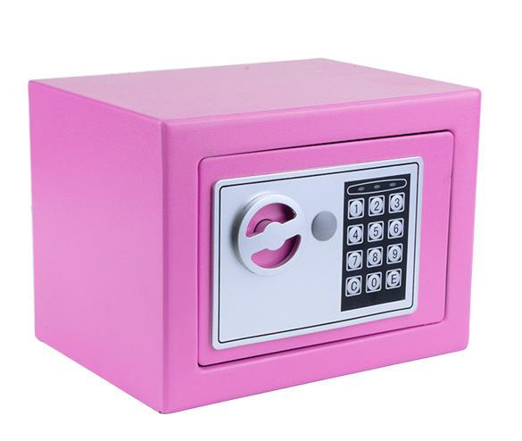 Electronic Safe Security Box with batteries 0