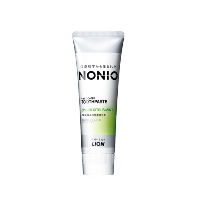日本獅王NONIO終結口氣牙膏-澄橘薄荷130g