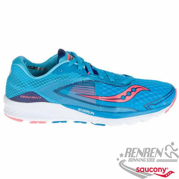 SAUCONY KINVARA 7 女慢跑鞋 (藍) 輕量 透氣避震