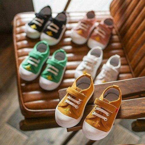 小童鞋帆布休閒鞋兒童板鞋寶寶鞋(13.5-15.5cm)KL105好娃娃