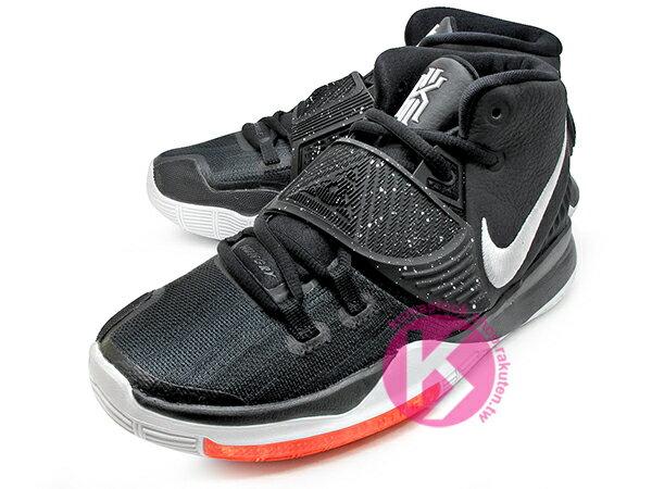 2019-2020 Kyrie Irving 最新代言鞋款 NIKE KYRIE 6 VI GS BLACK WHITE 大童鞋 女鞋 黑白 歐文 籃球鞋 (BQ5599-001) ! 1