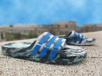 Shoestw【AQ5256】ADIDAS DURAMO SLIDE 拖鞋 一體成型 綠白藍 迷彩 男生 0