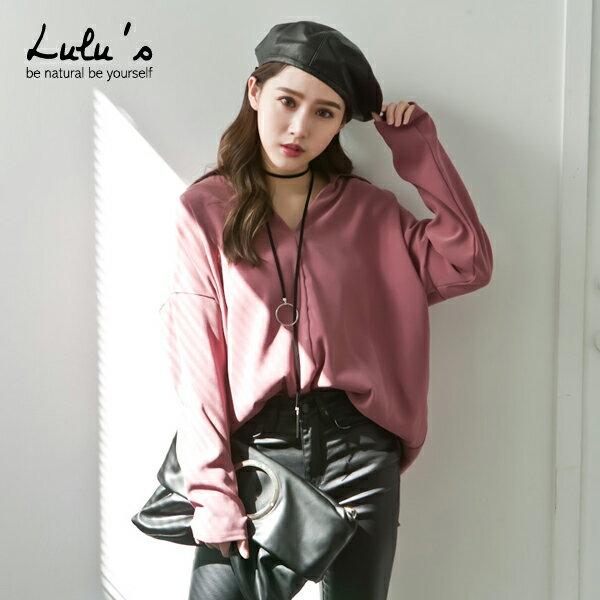 LULUS-L韓製-仿絨布半開襟襯衫-2色  現+預【01031637】 0