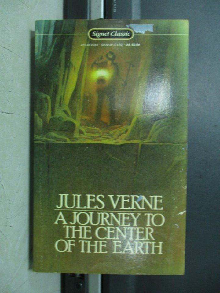 【書寶二手書T2/原文小說_LRB】Journey to the Centre of the Earth_Jules