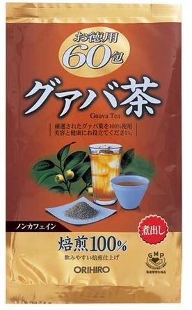 日本【ORIHIRO】芭樂茶超值組 60包