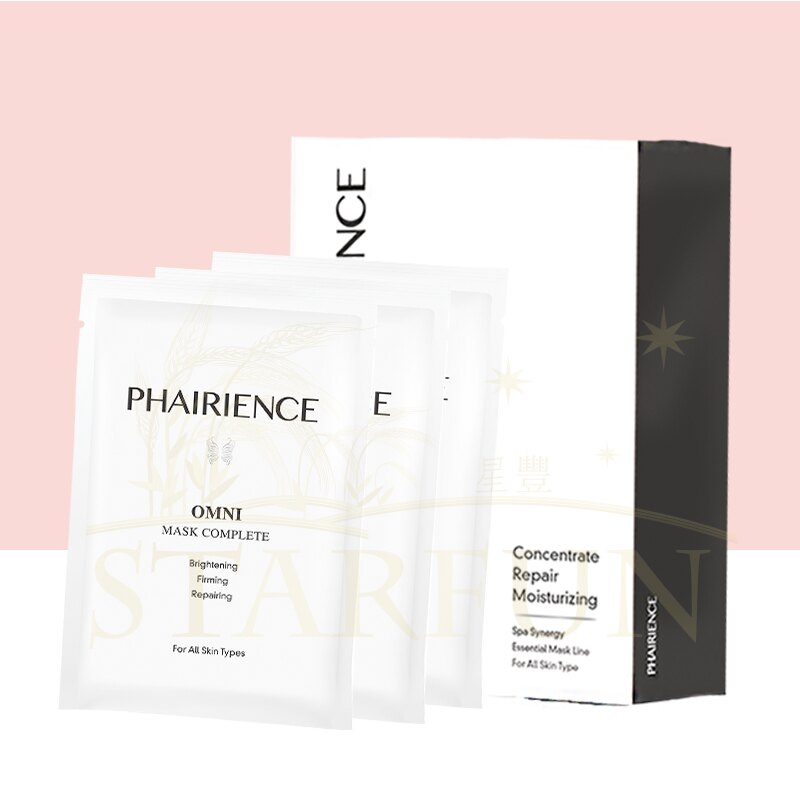 煥膚緊緻全效修護生物纖維面膜 Mask Complete - PHAIRIENCE OMNI 光燦亮彩系列體驗價 (五入/盒)