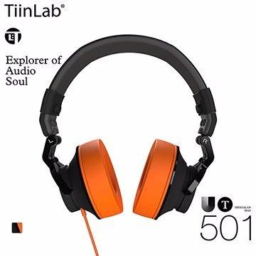 TiinLab Universe of TFAT UT 全域 系列 UT501 周杰倫 調音 耳罩式 質感 耳機 活力橘