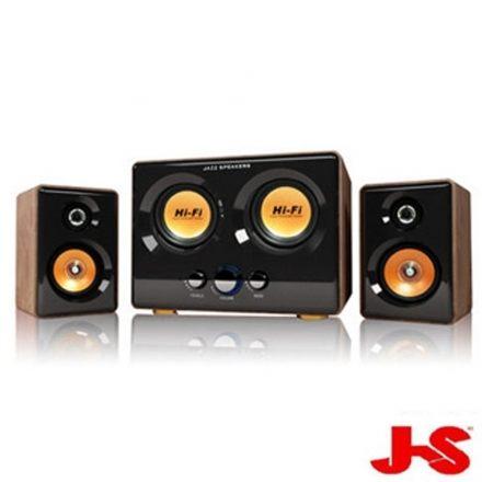 <br/><br/>  【JS淇譽電子】震天雷 雙低音全木質多媒體喇叭(JY3241)<br/><br/>