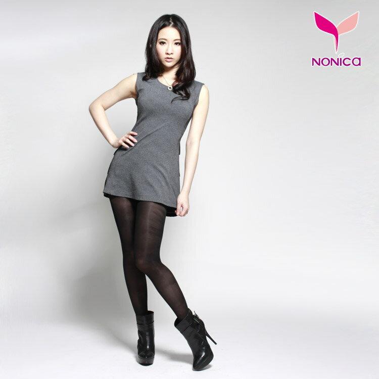 窈窕塑美 140D輕透膚塑美健康褲襪~膚色  黑色~S~XL~NoNiCa諾妮卡~