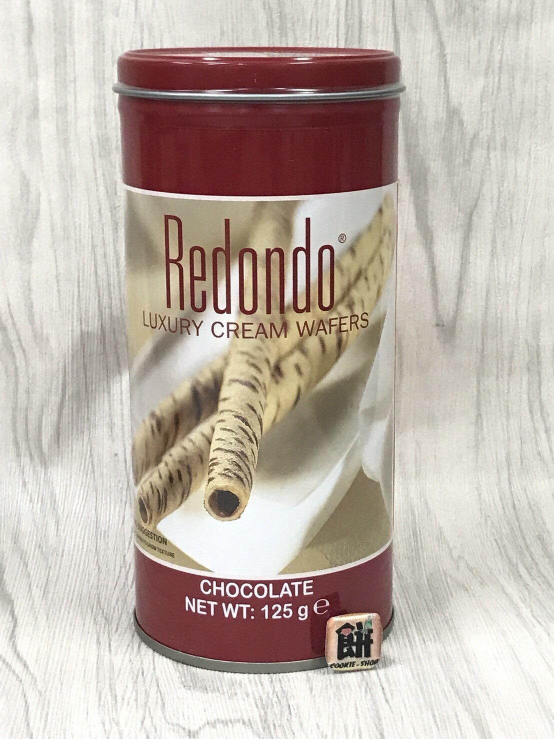 《瑞登》歐式捲心酥(巧克力口味)-125g