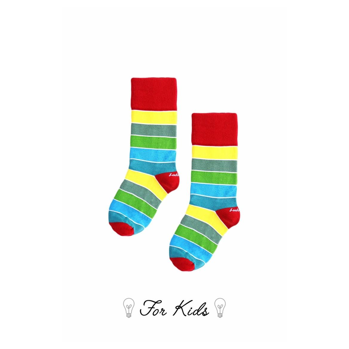 Leeds weather【英國設計】天然純棉孩童襪★超氣質條紋襪子【Cotton Socks Recommendations】- Selby ( Chalk & Cheese 系列共4款) 皇室孩童御用、可愛教主穿搭推薦、透氣舒適好看