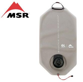 MSR 輕量耐磨取水袋 Dromlite 輕量耐磨尼龍水袋 6L 白 09585
