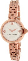 Marc Jacobs Women's Courtney MJ3458 Rose Gold Stainless-Steel Plated Japanese Quartz Fashion Watch
